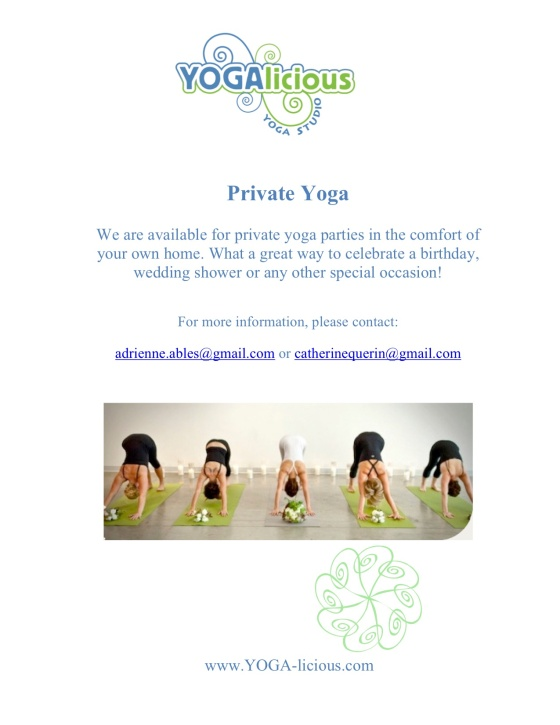 Private Yoga Parties