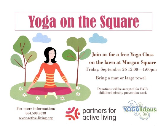 Yoga on the Square 9.2014