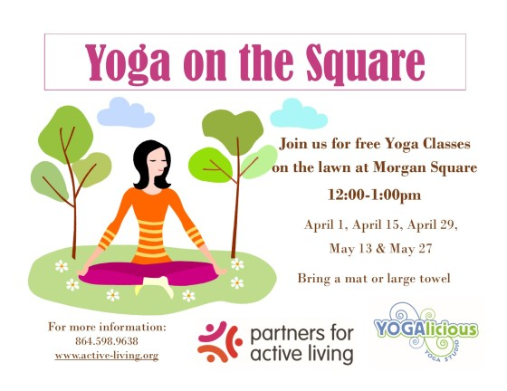 Yoga on the Square Spring 2015-6